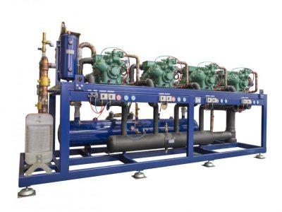 Centrale con compressori a pistoni